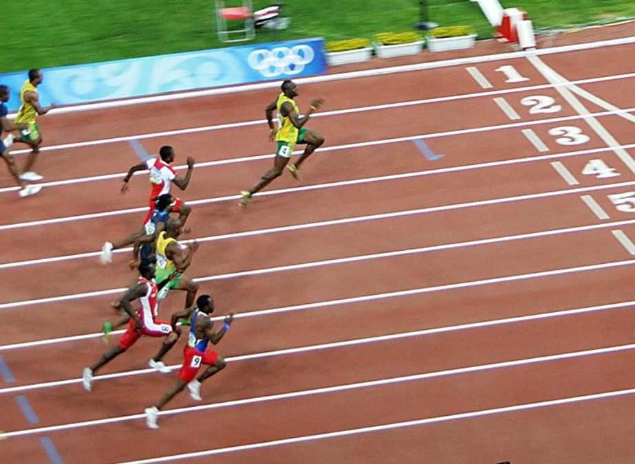 Entrenar 4 años para correr 9 segundos …