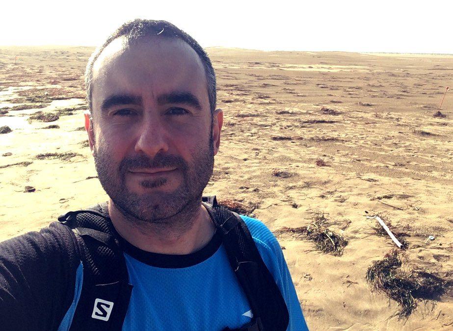 Perdido en medio del desierto